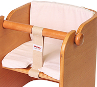 ColoColo Baby Chair:Cushion White