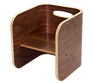 ColoColo Chair:Blackwalnut